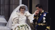 The royal wedding decor has a sweet tribute to Princess Diana