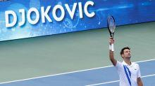 Djokovic alaba a Bautista, su rival en semifinales