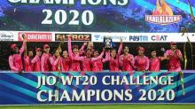 Smriti Mandhana's Trailblazers Lift Women's T20 Challenge Trophy