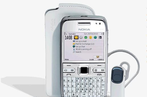 Nokia E72 'White Edition' pops up in Singapore -- in white, obviously
