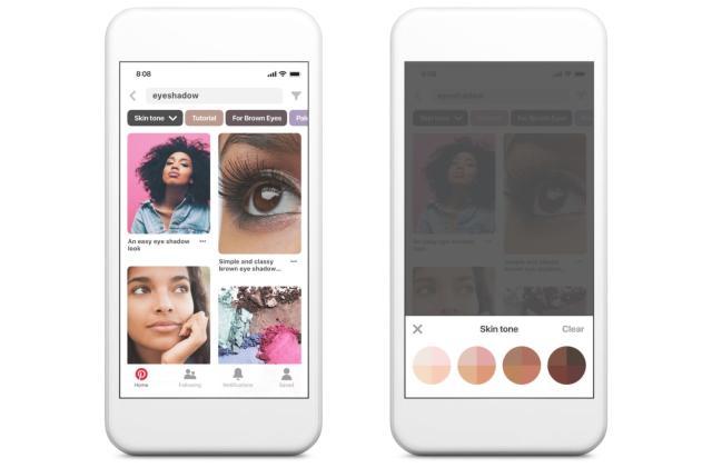 Pinterest's diverse workforce helped it design a better skin tone filter