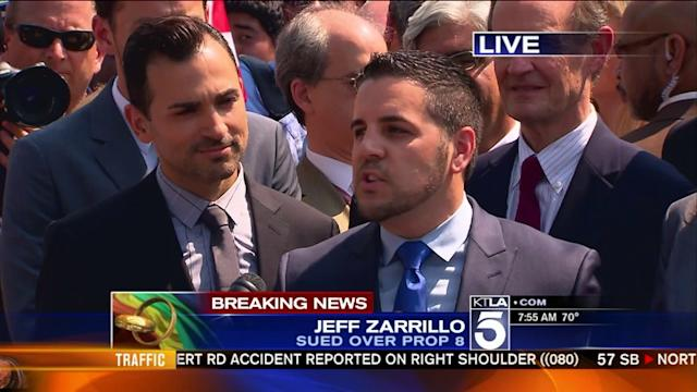Prop 8 Plaintiff Jeff Zarrillo: `We Look Forward to Using the Words Married and Husband`