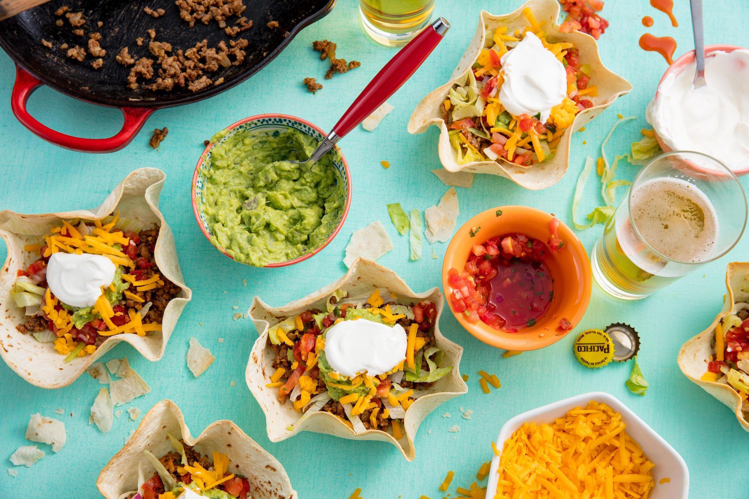 """<p>Tacos, quesadillas, burritos, enchiladas... if you don't like Mexican food, we've got some questions. Whether it's Taco Tuesday, Cinco de Mayo, or a Friday night, these recipes are fun enough for a party, and easy enough to make a delish weeknight dinner. Once you've tried all of these, we've got <a href=""""/cooking/recipe-ideas/g2786/easy-taco-recipes/"""" data-ylk=""""slk:50 amazing tacos"""" class=""""link rapid-noclick-resp"""">50 amazing tacos</a> for you to work your way through.<br></p>"""