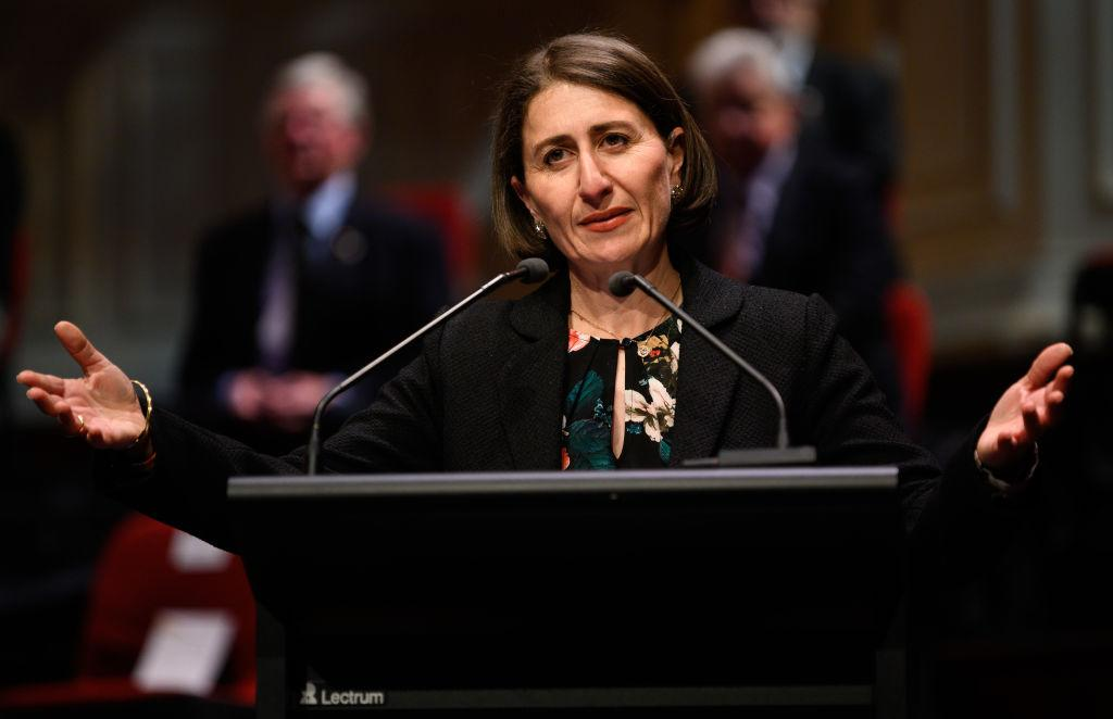What just happened to the NSW Liberal party?