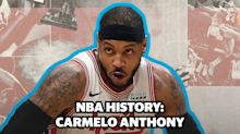 NBA History: Carmelo Anthony