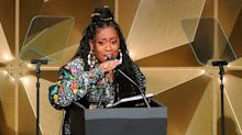 Missy Elliott tears up as first female rapper inducted into Songwriters Hall of Fame