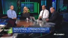 Here's the reasons to buy into industrials right now: Tra...
