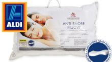 Aldi's hit $20 'anti-snore' pillow causes a stir: 'Need this'