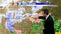 Christmas morning winter weather forecast