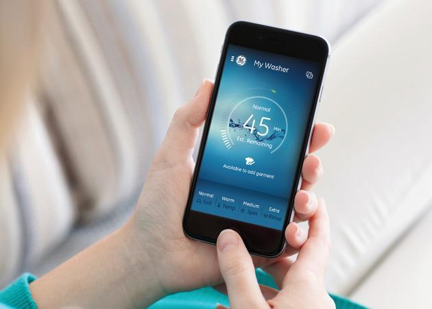 GE's smart appliances let you take control with your phone