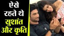 Sushant & Kriti Sanon's Throwback moment will win your heart
