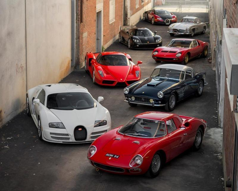 At 67 Million The Most Expensive Car Collection Ever