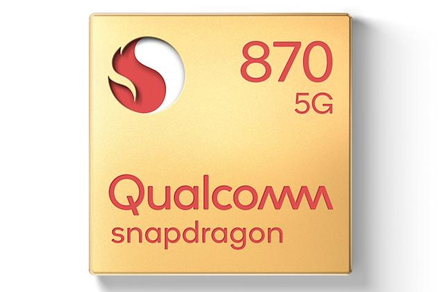 Qualcomm's Snapdragon 870 is a souped-up version of last year's flagship