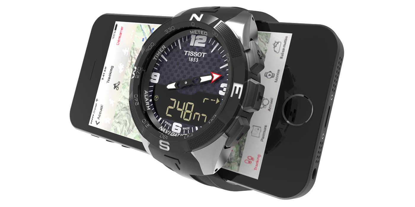 Swatch's first proper smartwatch is a Tissot | Engadget