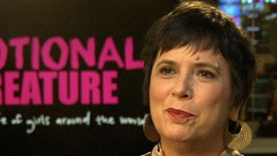 Eve Ensler explains 'Emotional Creature'