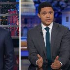 Stephen Colbert Breaks Into Song, Trevor Noah's Jaw Drops Over Trump Impeachment Articles