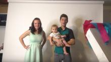La curiosa (y elaborada) manera en que anunció el sexo de su bebé