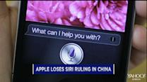 Apple's Siri setback in China