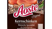 Salmonellen-Gefahr: Rückruf für Aoste-Schinken