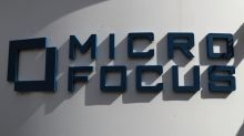 Software firm Micro Focus jumps over 20% on upbeat outlook