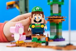 Lego adds a Luigi set to its Super Mario collection