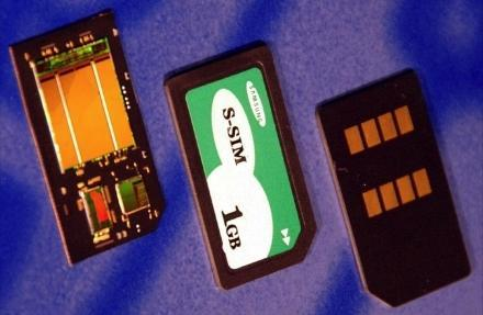 Samsung's 1GB S-SIMTM: your GSM SIM and 1GB storage, combined