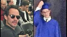 Marc Anthony y sus hijos se reúnen en graduación, pero no es la primera vez