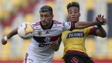 Arrascaeta destaca vitória do Flamengo no Equador: 'Serviu para mostrar a força da equipe'