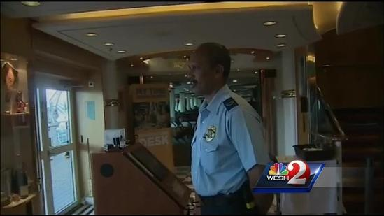 New Royal Caribbean ship in Port Canaveral