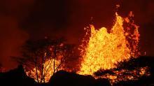Flying Lava From Hawaii Volcano Shatters Man's Leg