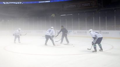 NHL hoping to make inroads in China
