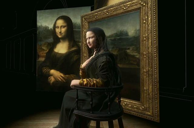 HTC recreated the 'Mona Lisa' in 3D for the Louvre's da Vinci exhibition