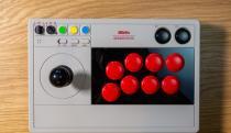 8BitDo's second arcade stick is moddable, stylish and versatile