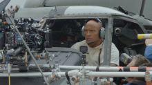 'Rampage': Exclusive 'Trio of destruction' clip