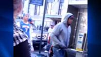 Surveillance video in beating outside Madison Square Garden