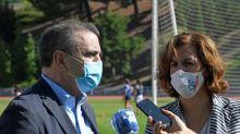 Lozano y Franco intercambiaron información sobre la situación de la pandemia