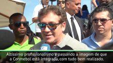 """COPA AMÉRICA: Alejandro Domínguez: """"Brasil está fazendo uma ótima organização"""""""