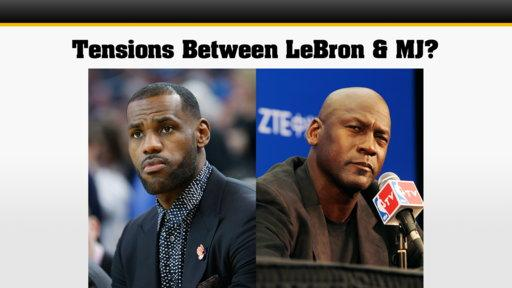 38ef76951fcc83 LeBron James and Michael Jordan Rivalry Heats up