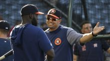 Who is Alex Cintrón, the Astros hitting coach who instigated brawl with the A's?
