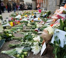 Flowers left at Windsor Castle will be displayed privately in castle grounds