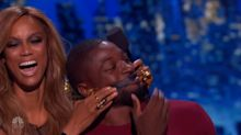 Comedian mocks Tyra Banks's 'huge forehead' on 'AGT'