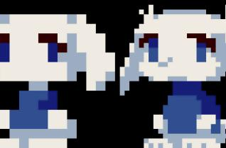 Exclusive: Cave Story's new Sue sprite
