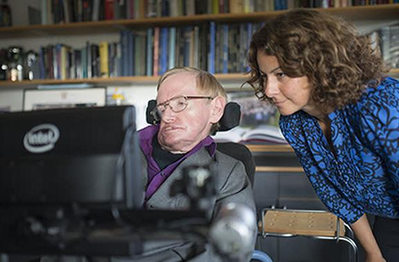 Stephen Hawking now uses SwiftKey suggestions to communicate faster