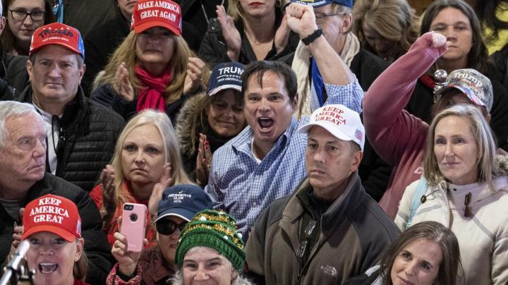 Trump supporters evoke threat of 'shooting civil war'