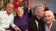 El conmovedor adiós a Kirk Douglas de su hijo Michael y otras estrellas de Hollywood