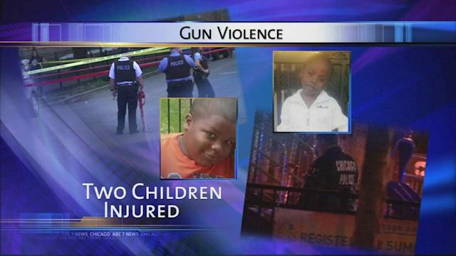 2 young boys injured after separate Chicago shootings   Suspected shooter of 5-year-old in custody, ABC7 has learned