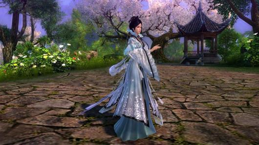 Here's Age of Wushu's new 'warrior maiden' sect