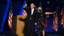 Fans entdecken versteckte Bedeutung hinter Jill Bidens Wahlkleid
