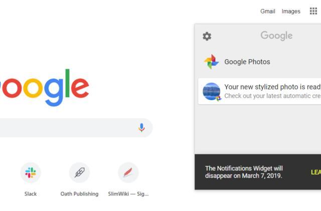 Google is killing its Notifications Widget
