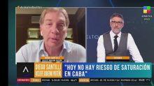 """Diego Santilli: """"Macri le pedía reuniones a Cristina y no las tenía, nosotros las tenemos todos los días"""""""